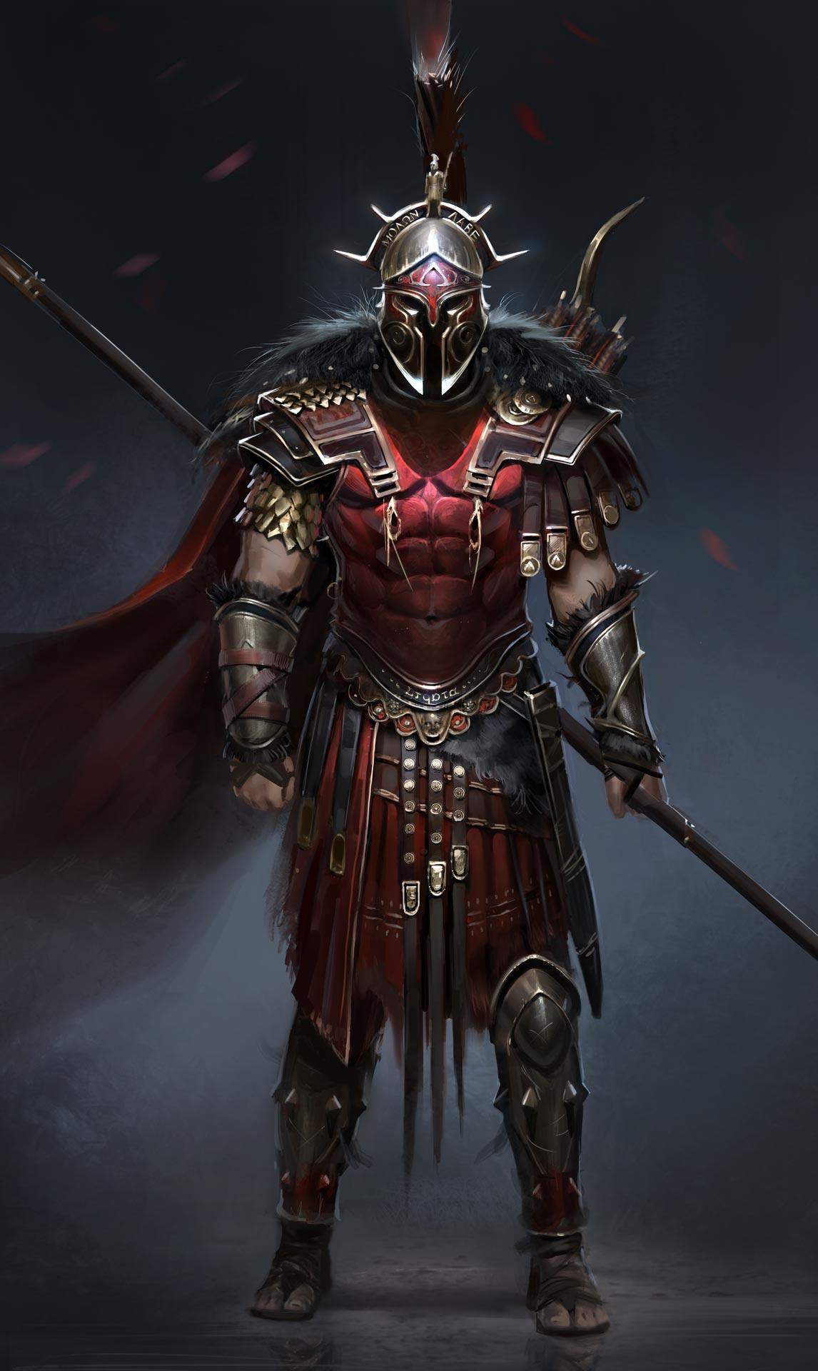 The Hero of Sparta.