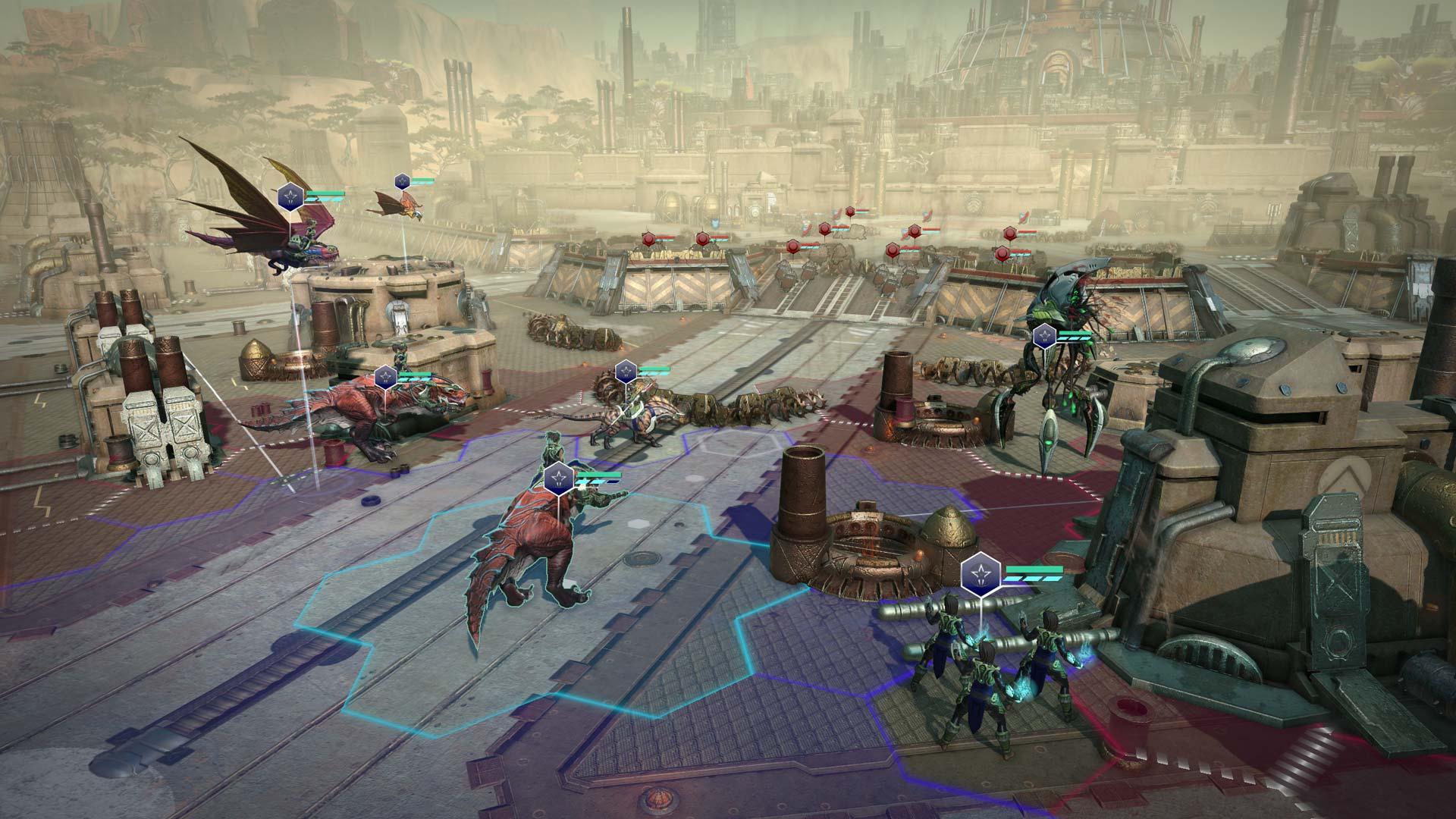 Age of Wonders: Planetfall Battle