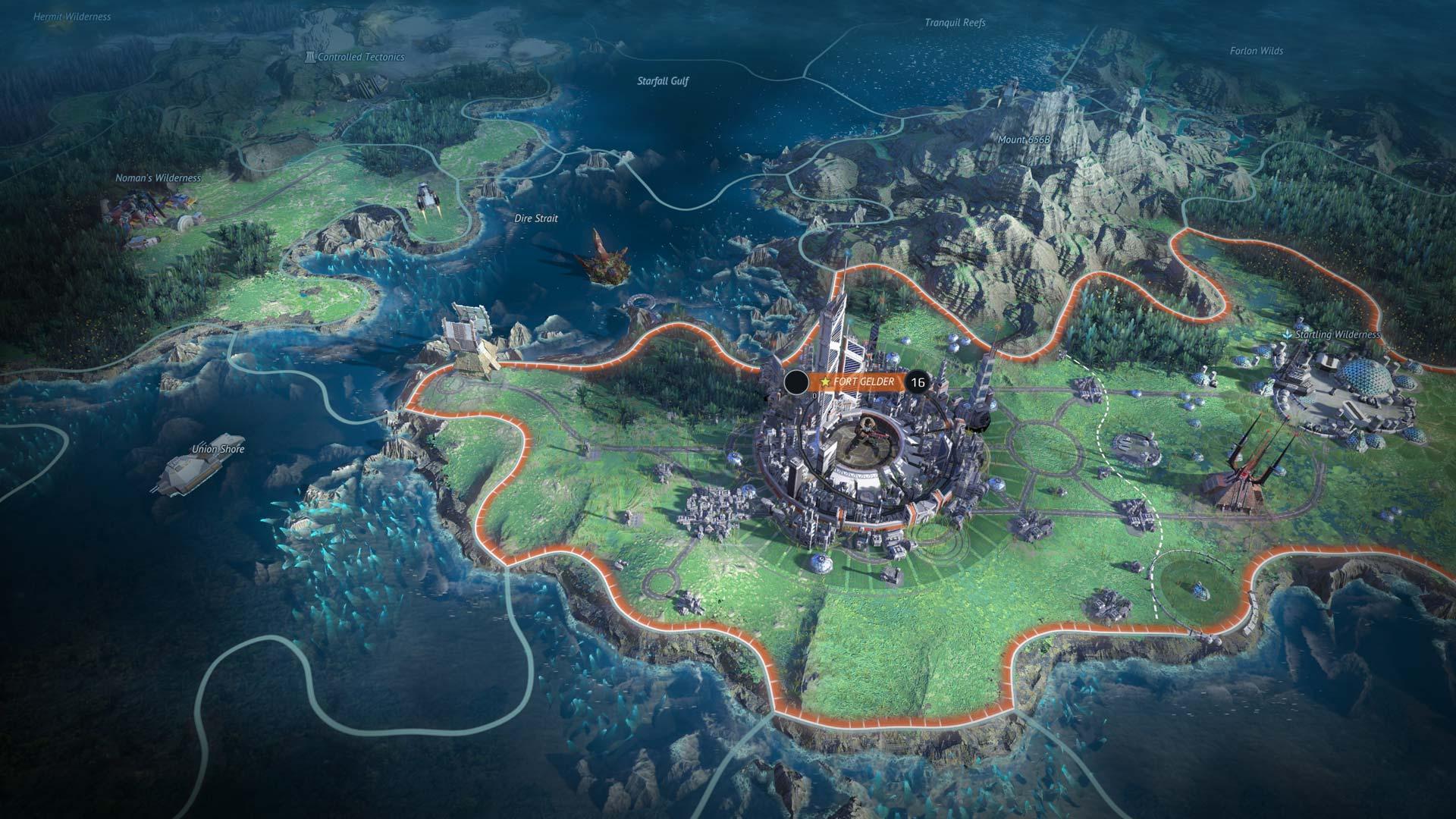 Age of Wonders: Planetfall City