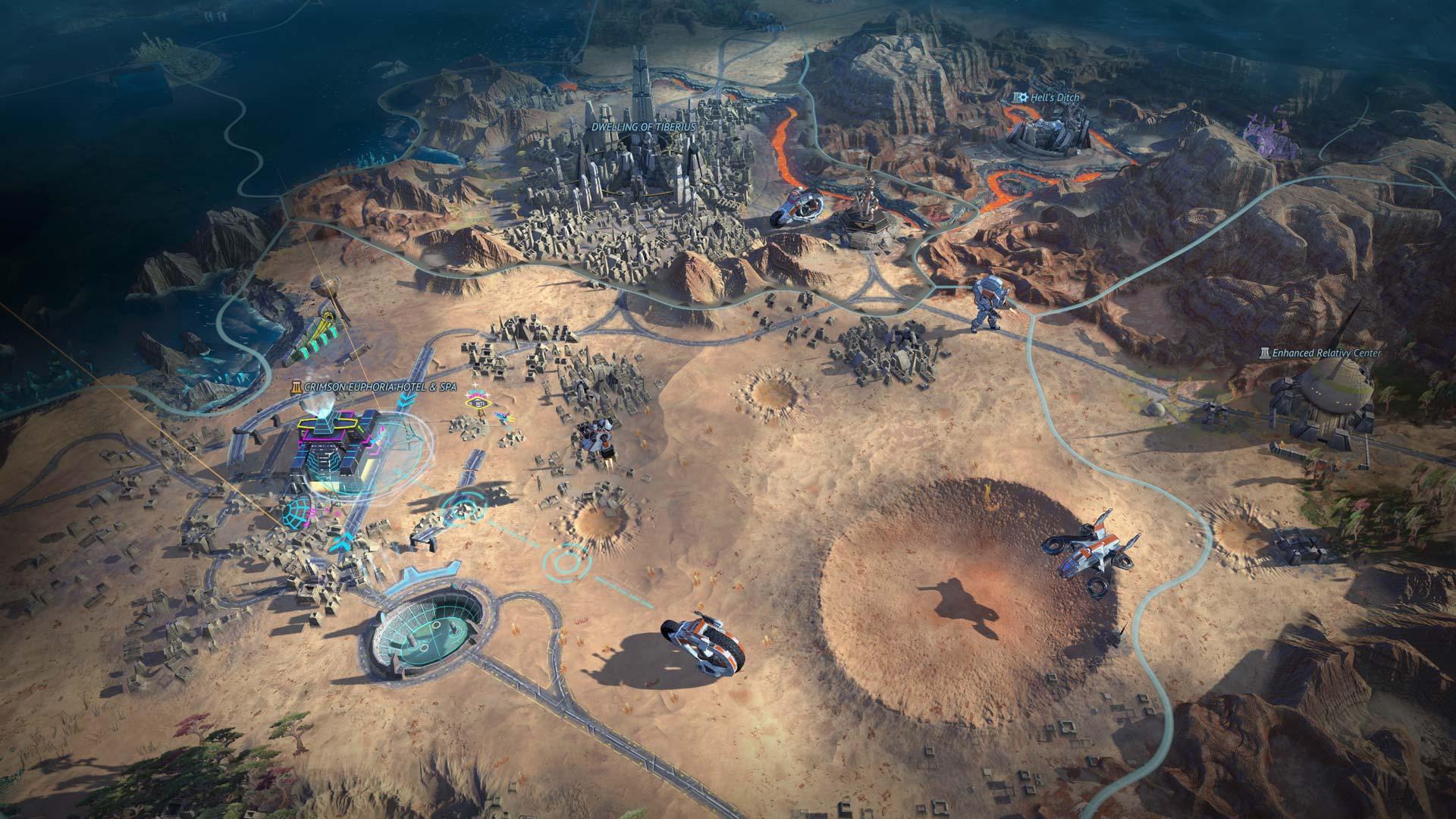 Age of Wonders: Planetfall Planet