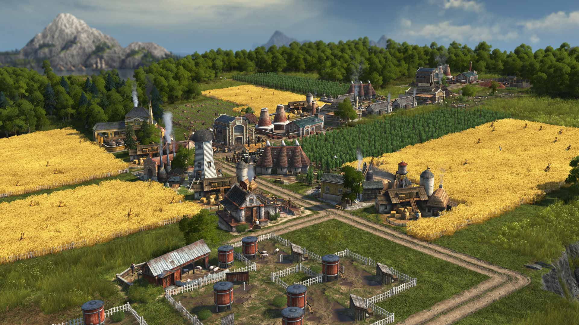 Anno 1800, a new beginning