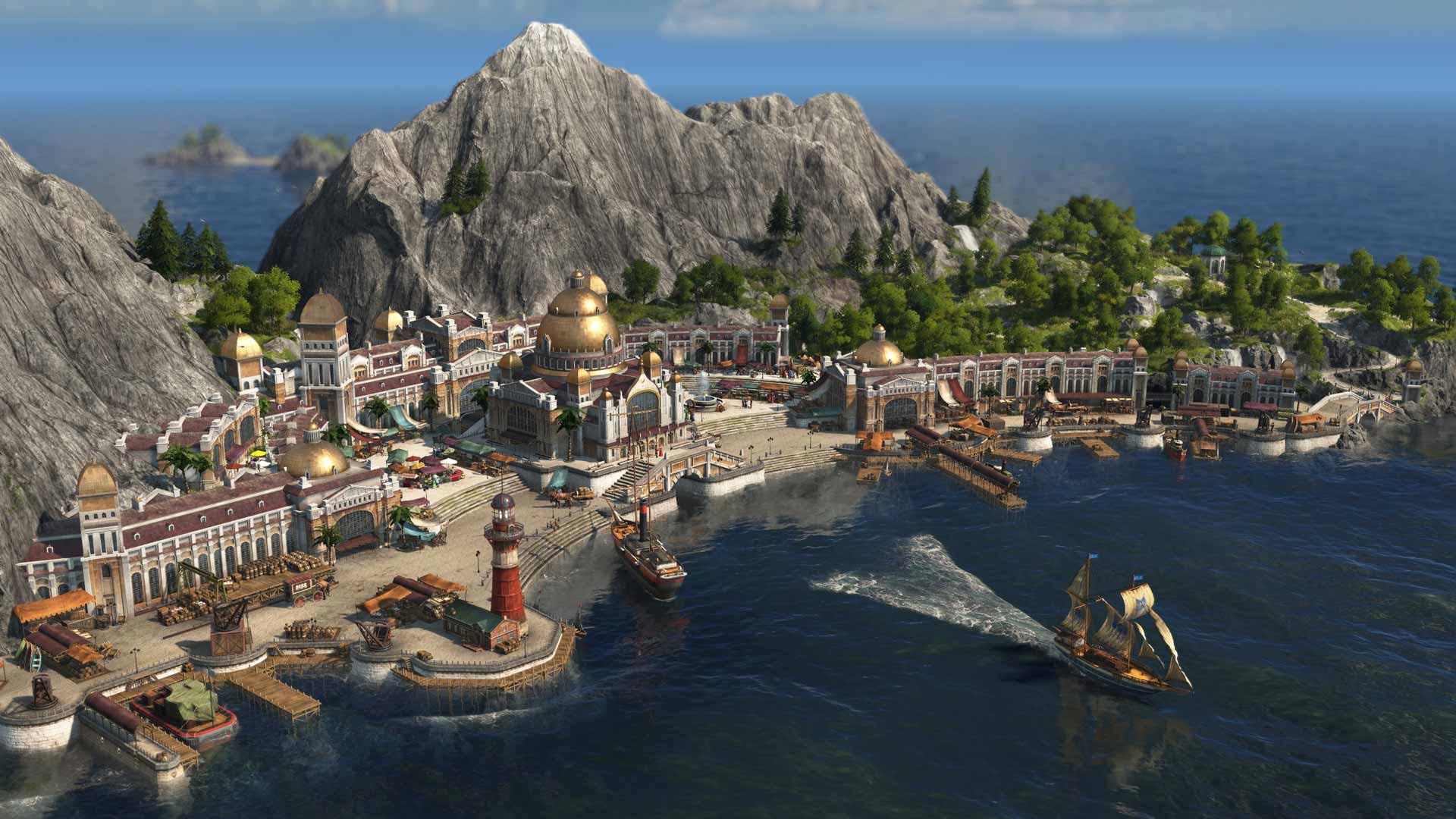 Anno 1800 Seafaring