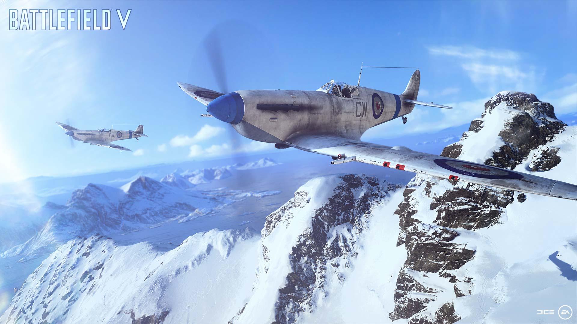 Battlefield 5 plane