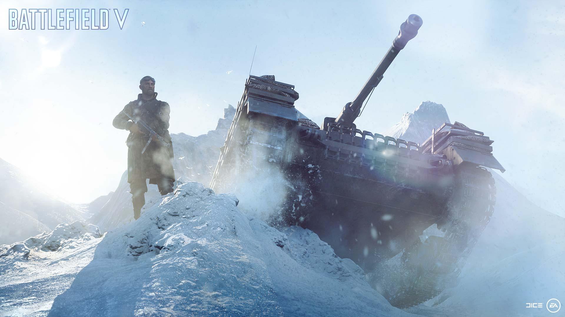 Battlefield 5 tank