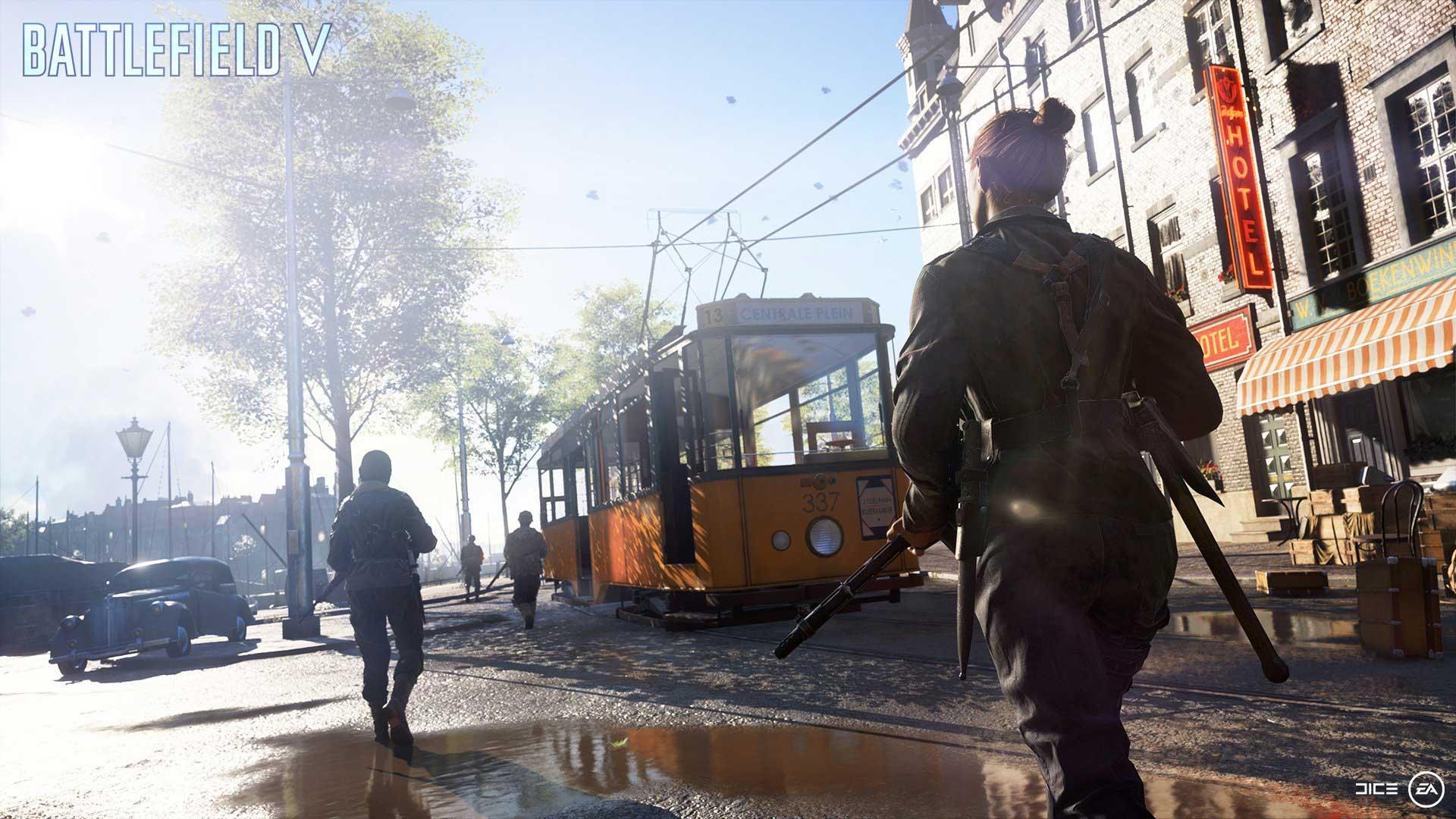 Battlefield 5: Rotterdam.