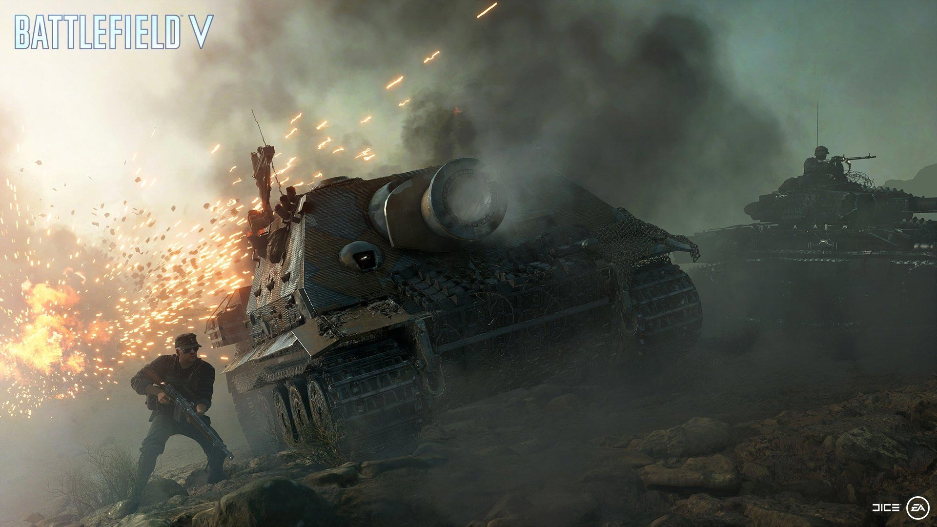 Battlefield 5: Tanks will also play a role in the Battle Royale mode.