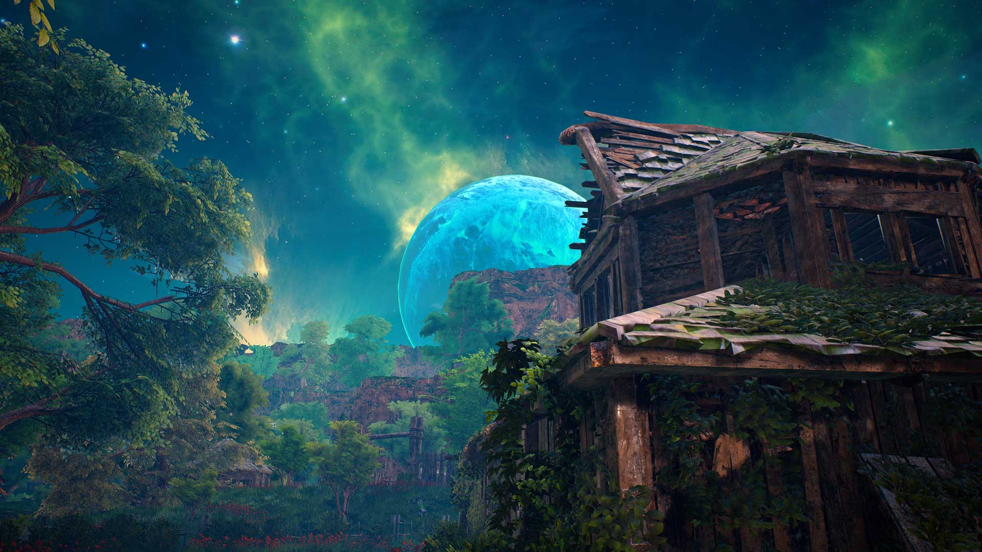 The Open World of Biomutant is freely accessible.