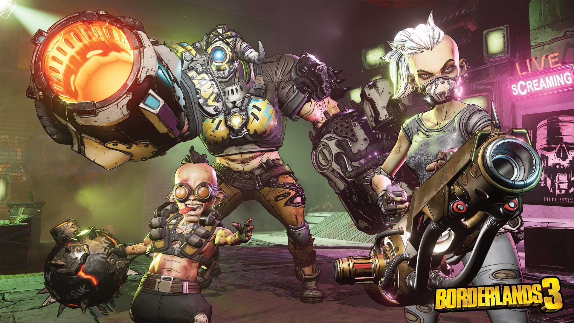 Borderlands 3 boss fight