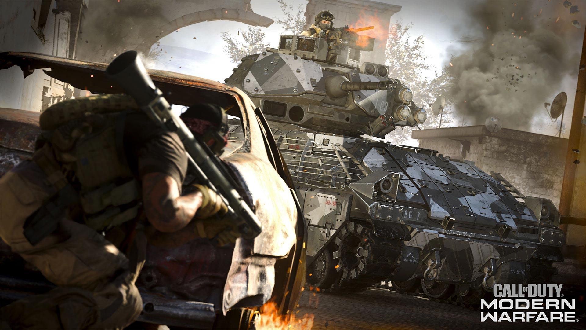Call of Duty: Modern Warfare tank