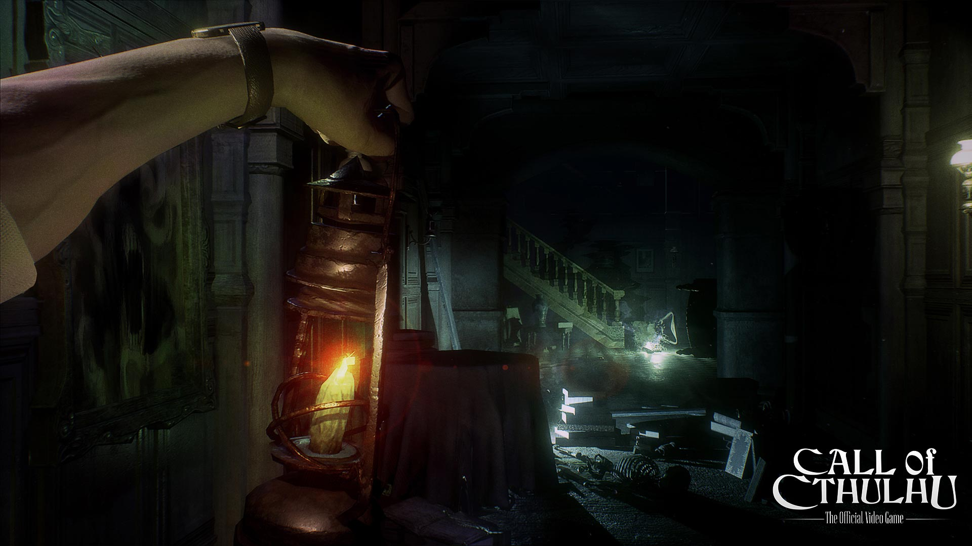 Call of Cthulhu takes place from a first-person-view perspective