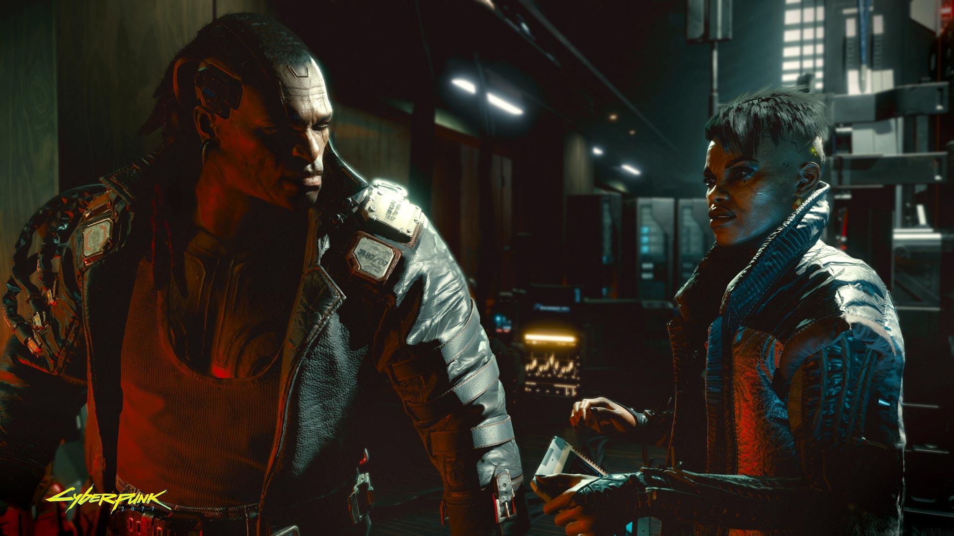 Cyberpunk 2077 Multiplayer characters