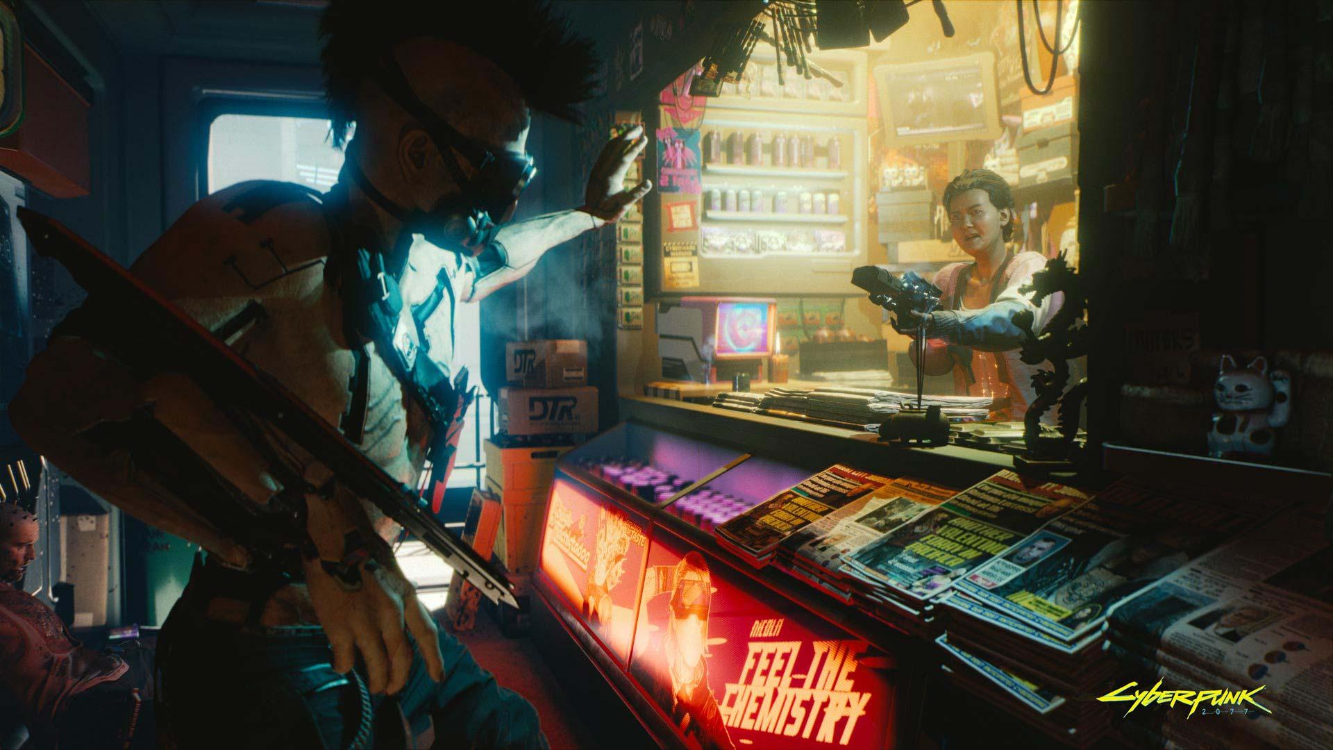 Cyberpunk 2077: Store Attack