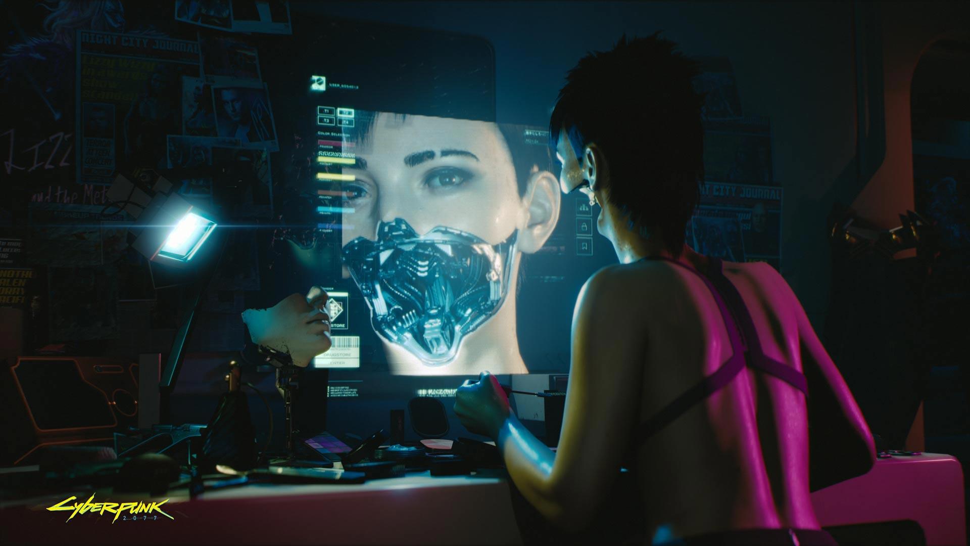 Cyberpunk 2077 Transhumanism