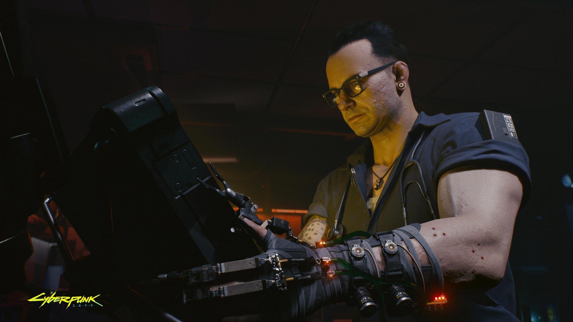 Cyberpunk 2077: Transhumanism.