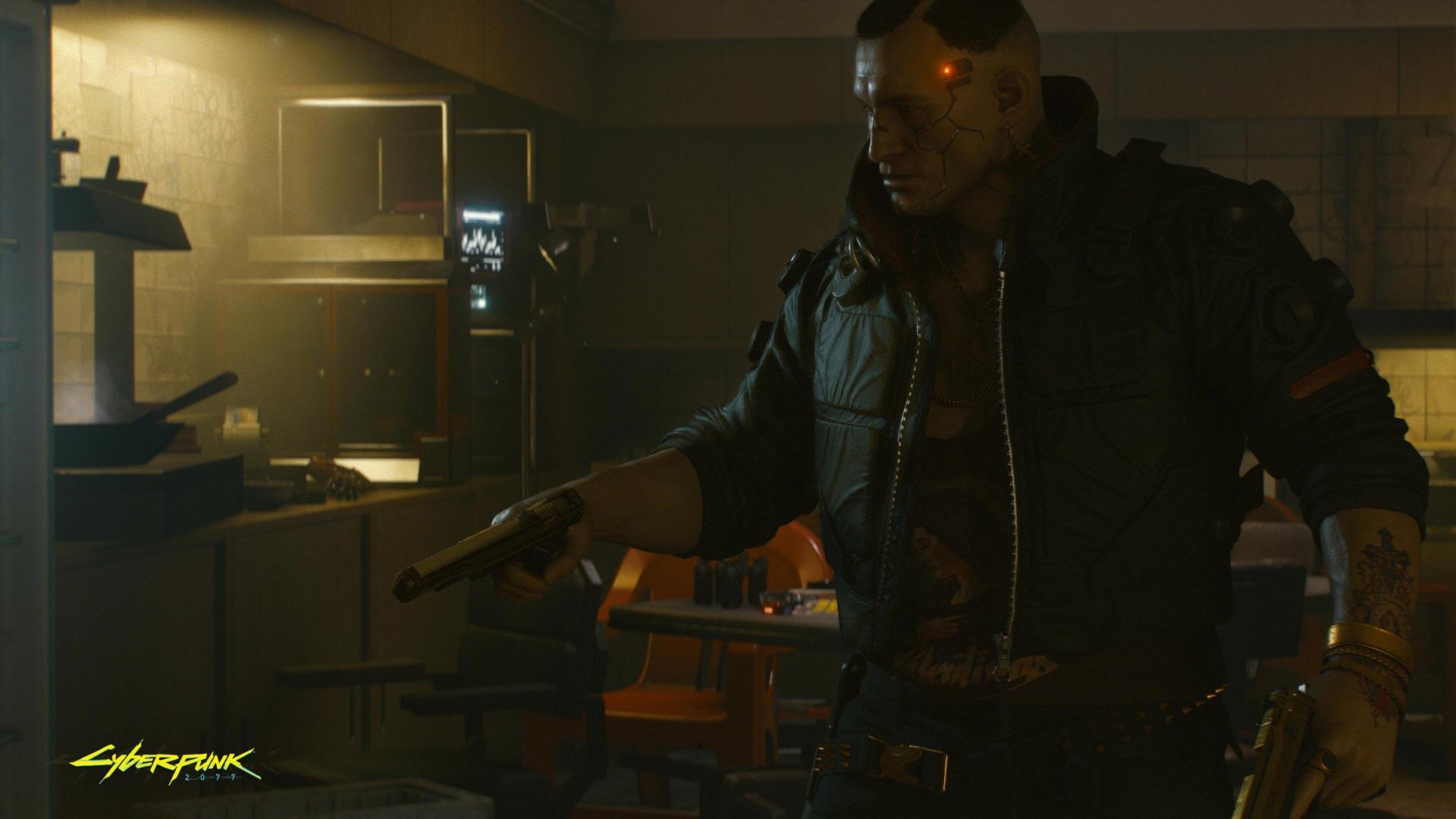 Cyberpunk 2077: Jackie Welles.