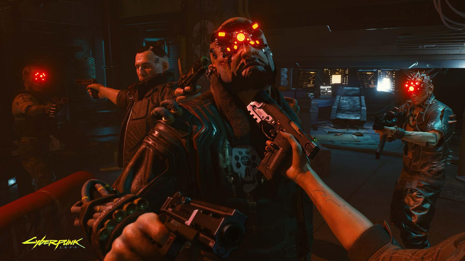 Cyberpunk 2077: Gunpoint