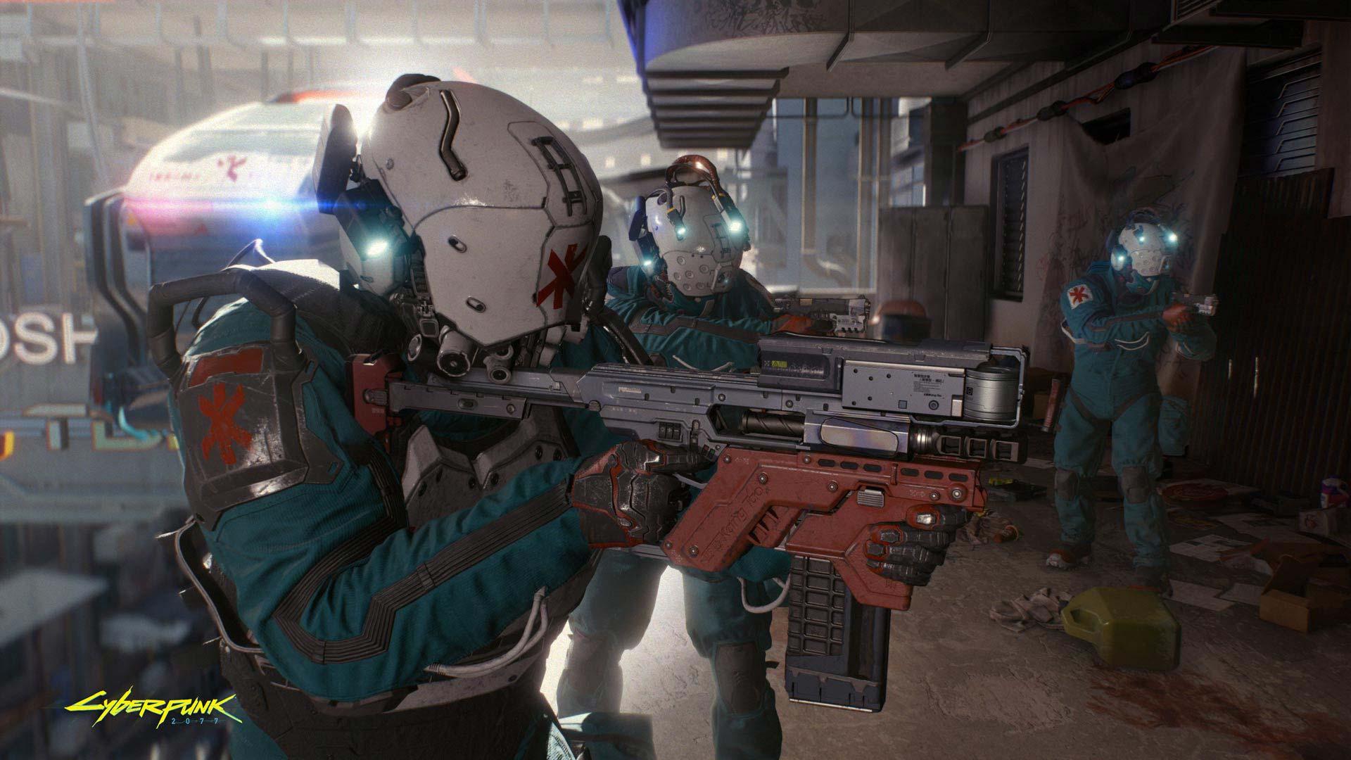 Cyberpunk 2077 Shooter