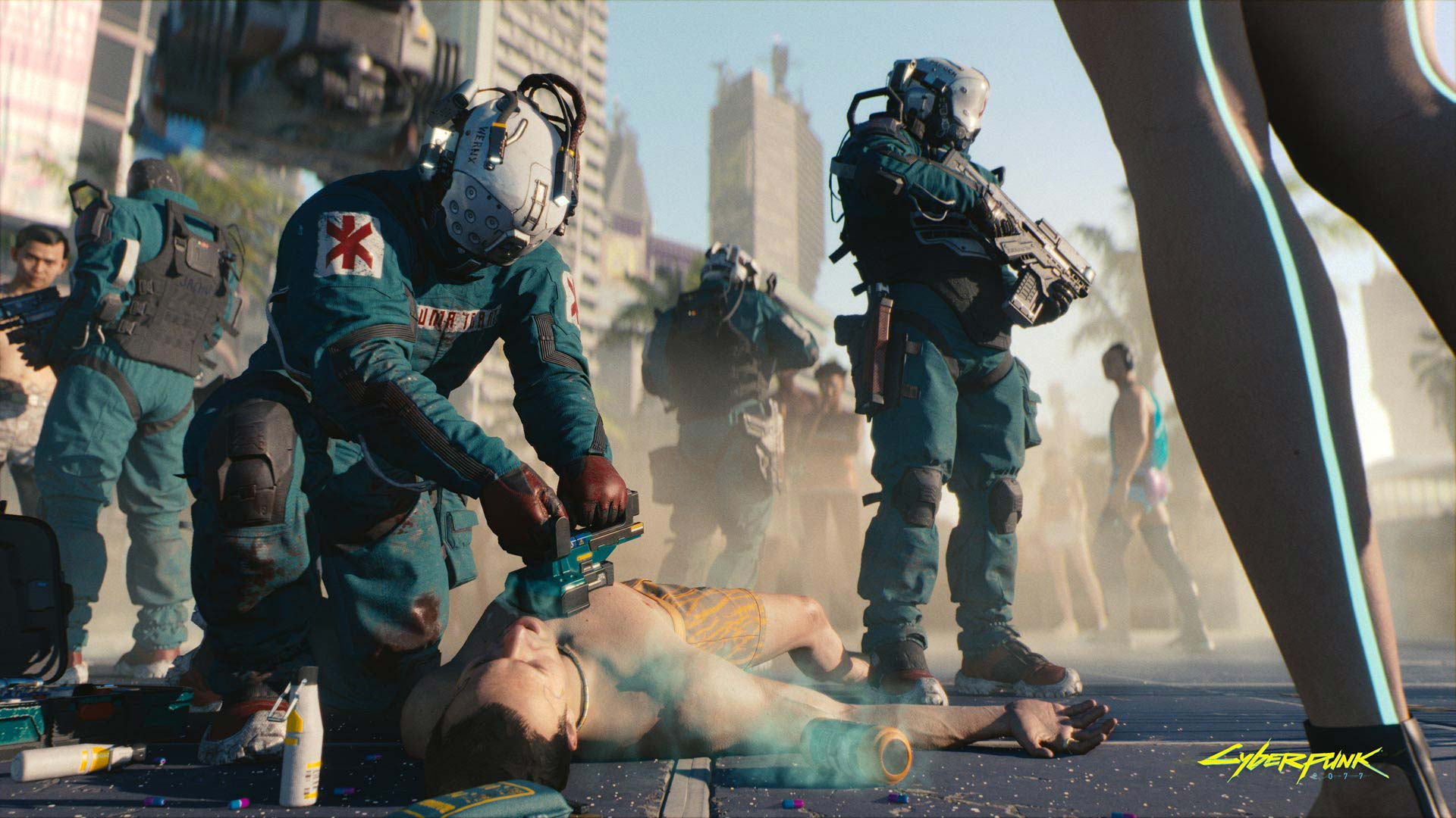 Cyberpunk 2077 Trauma Team