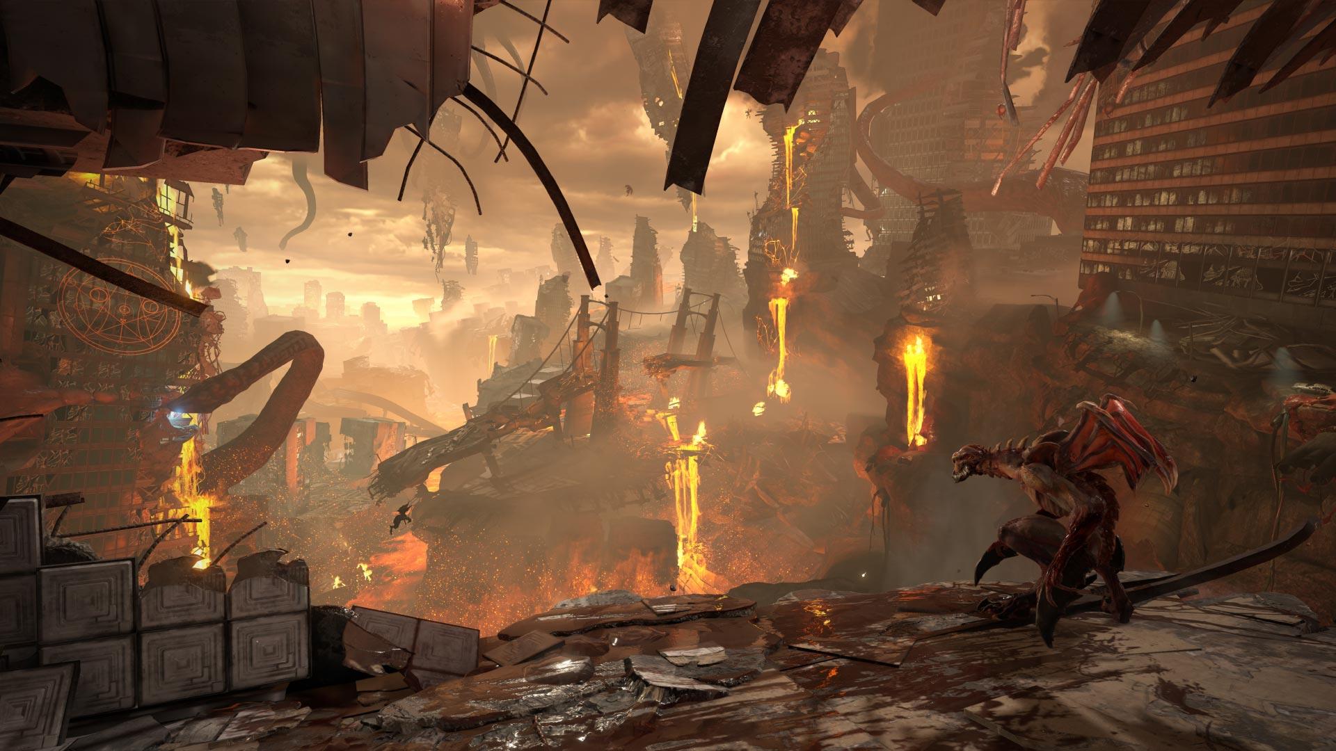 The world of Doom: Eternal