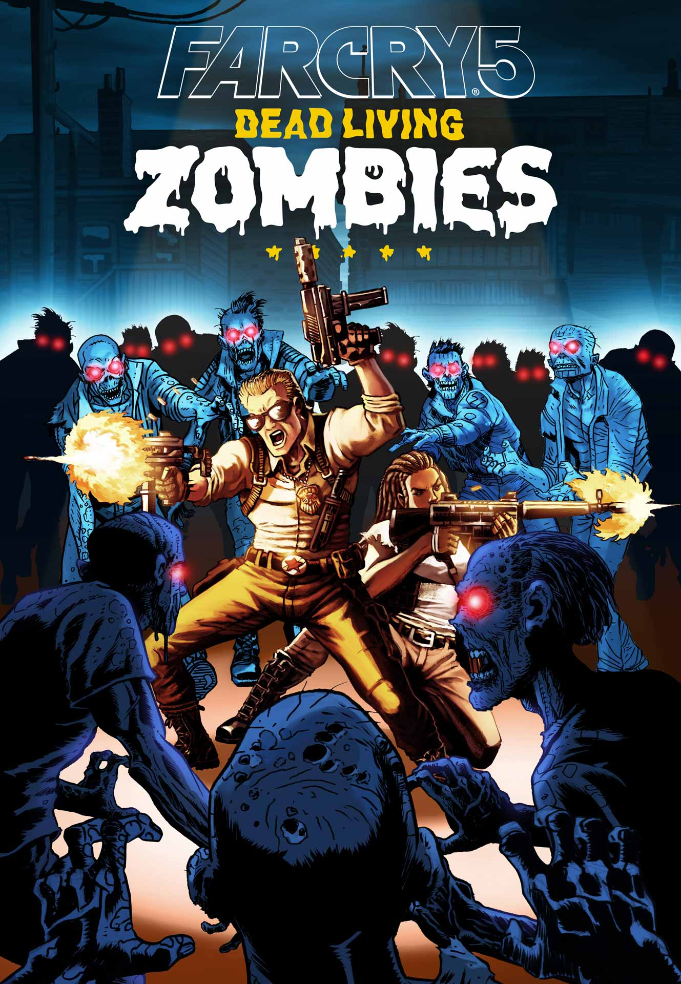 Far Cry 5 Zombies Cover Art