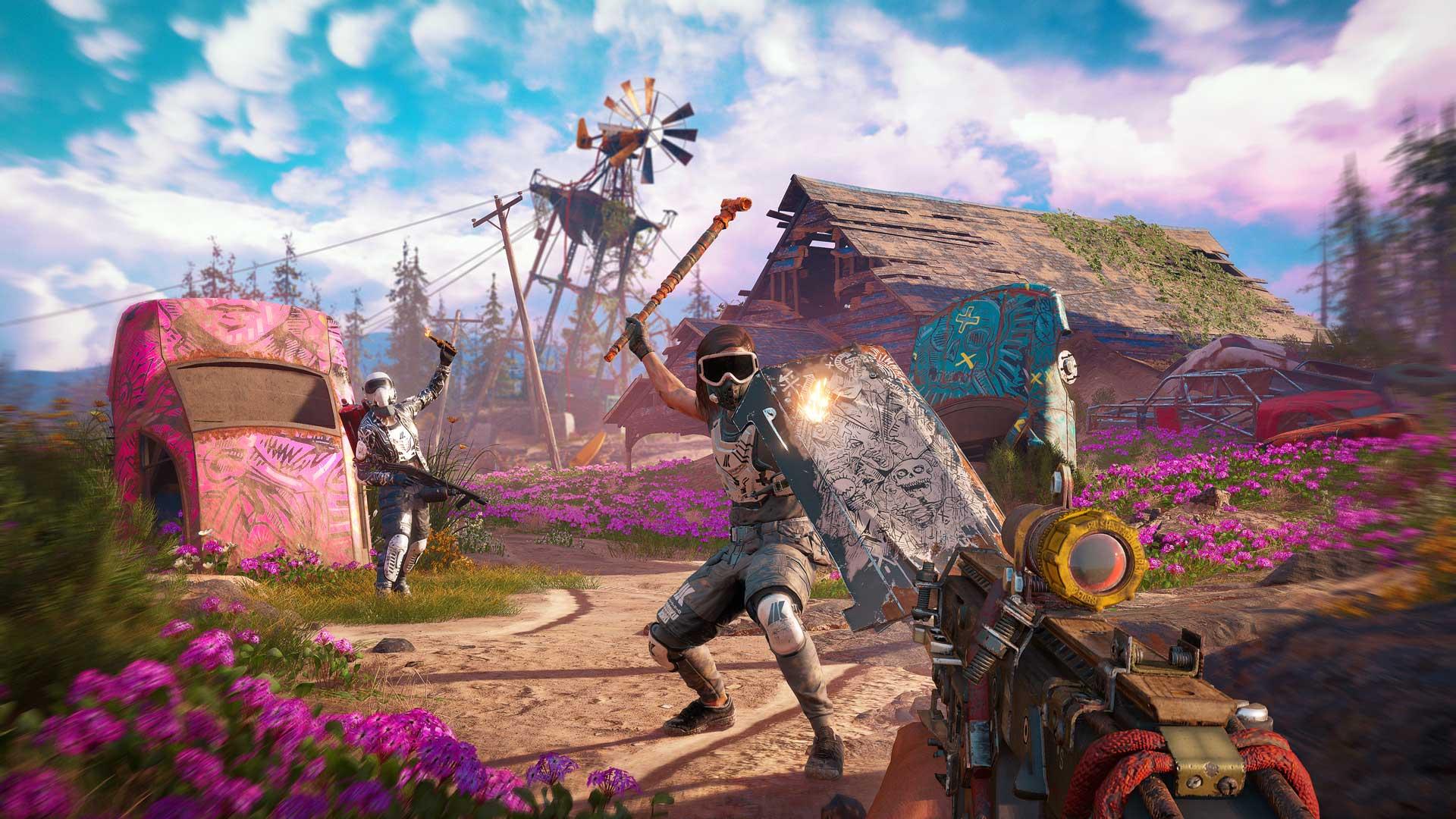 Far Cry New Dawn brawler attack