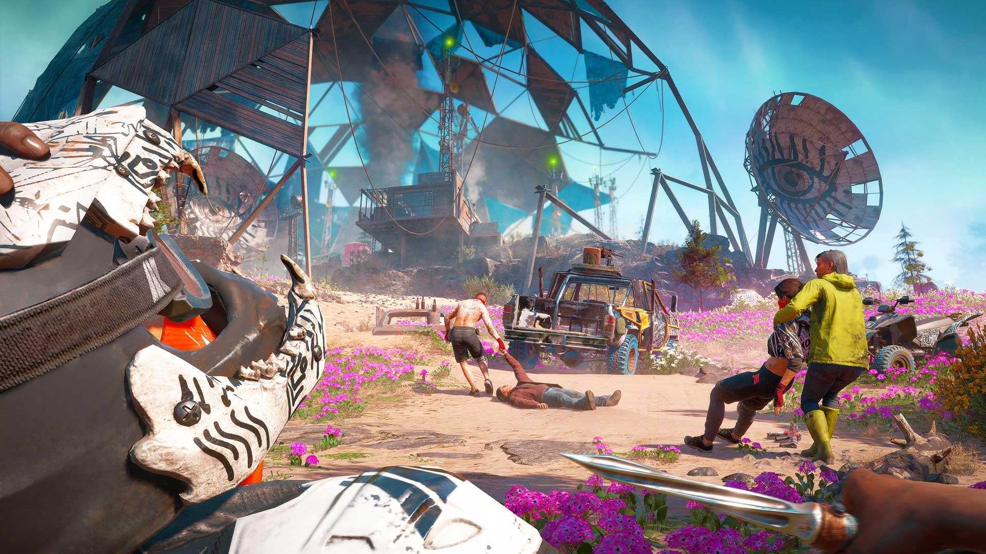 Far Cry New Dawn stealth kill