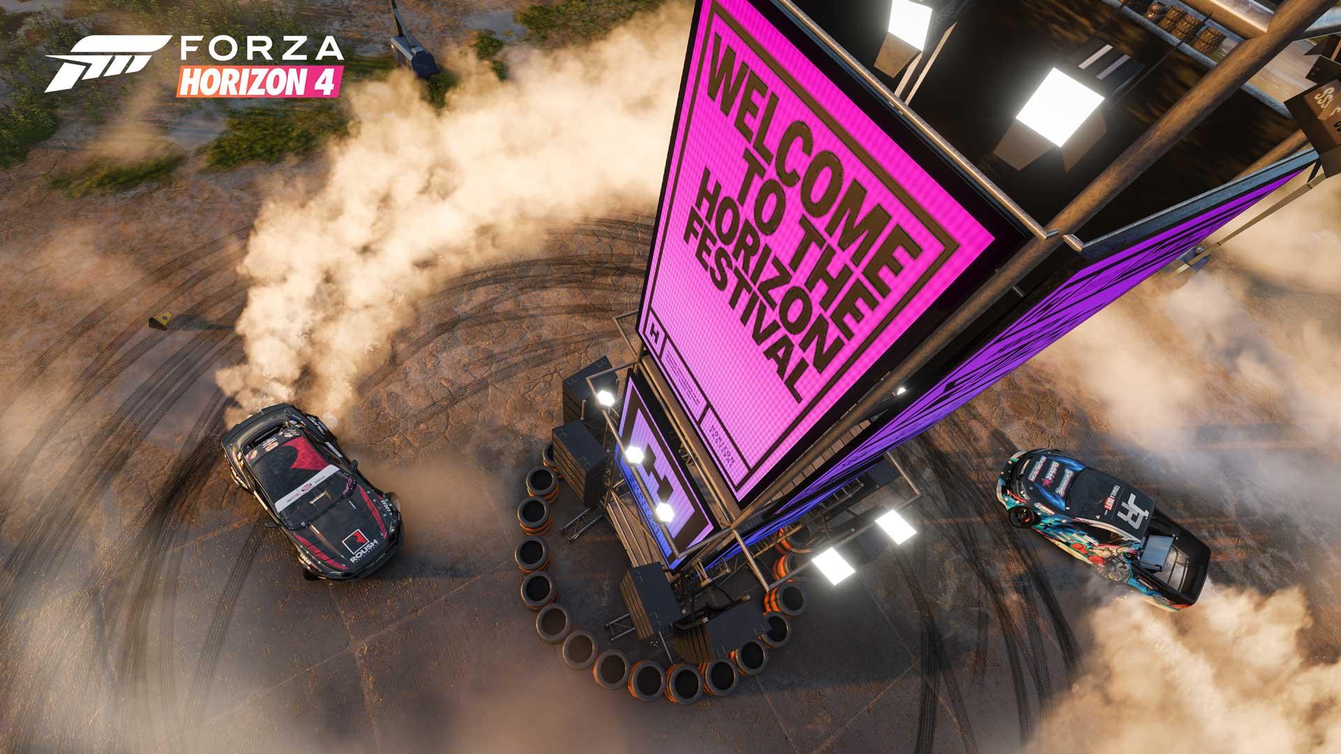 Forza Horizon 4 - Horizon Festival.