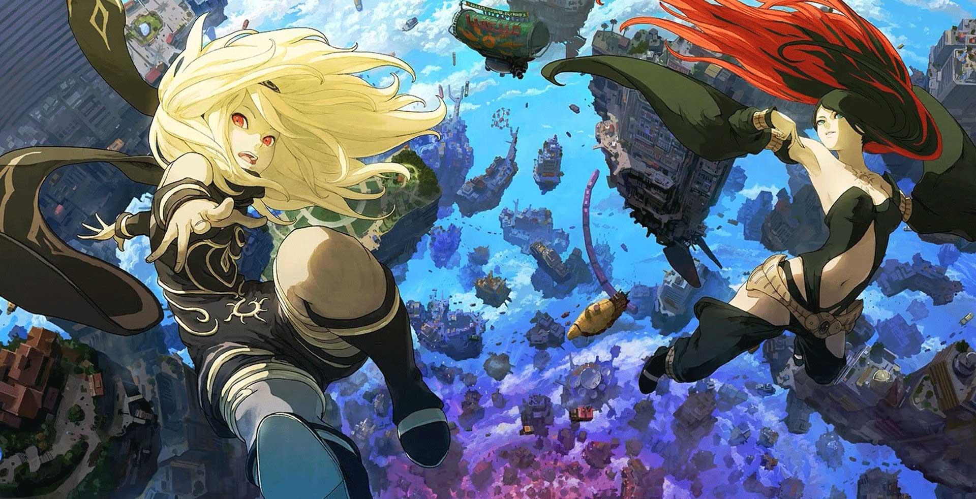 Characters of Gravity Rush