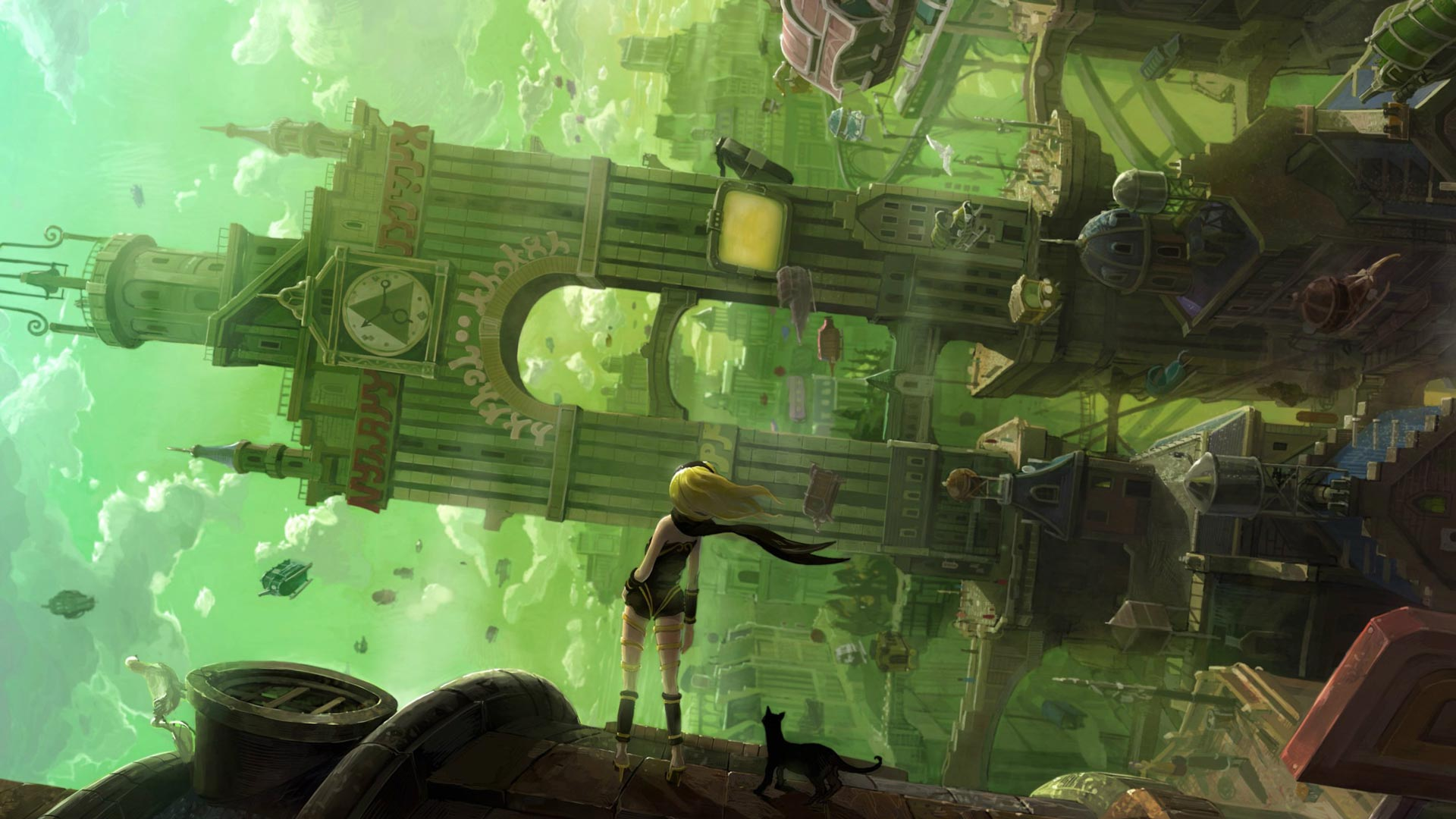 World of Gravity Rush