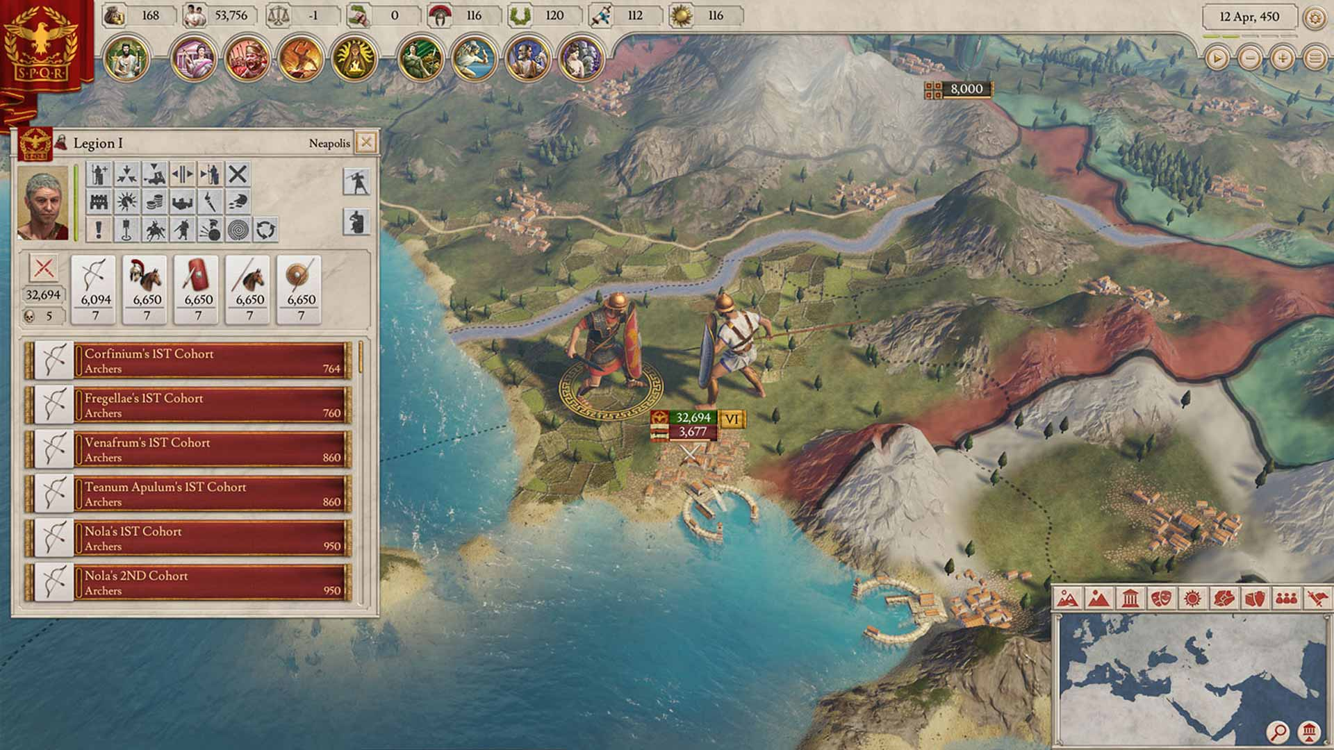 Imperator: Rome Screenshot 1