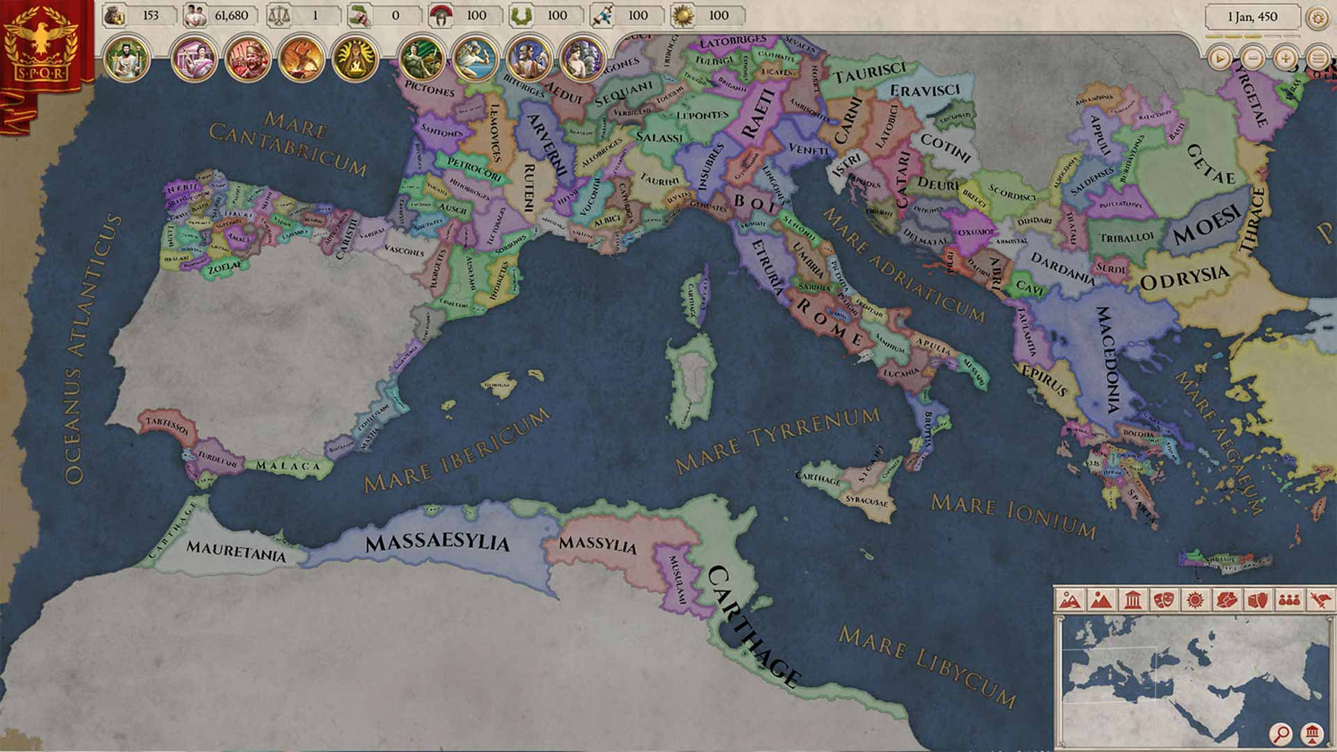 Imperator: Rome Screenshot 2