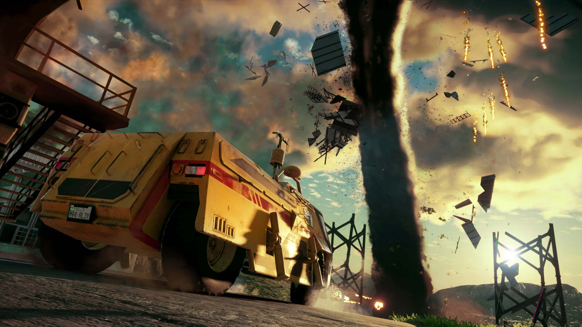 Changing weather will play a big part in Just Cause 4. Watch out for tornadoes!