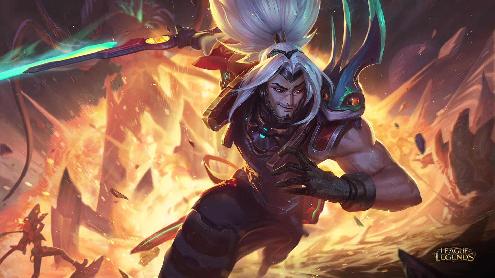New skin for Yasuo in League of Legends: Odyssey Extraction
