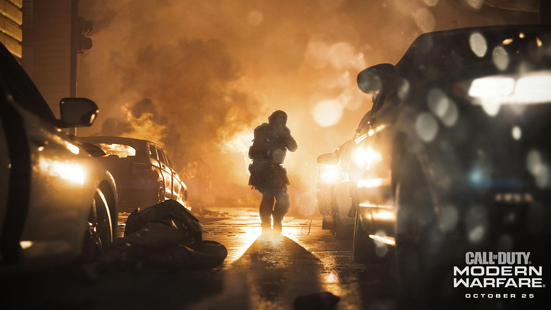 Call of Duty: Modern Warfare Explosion