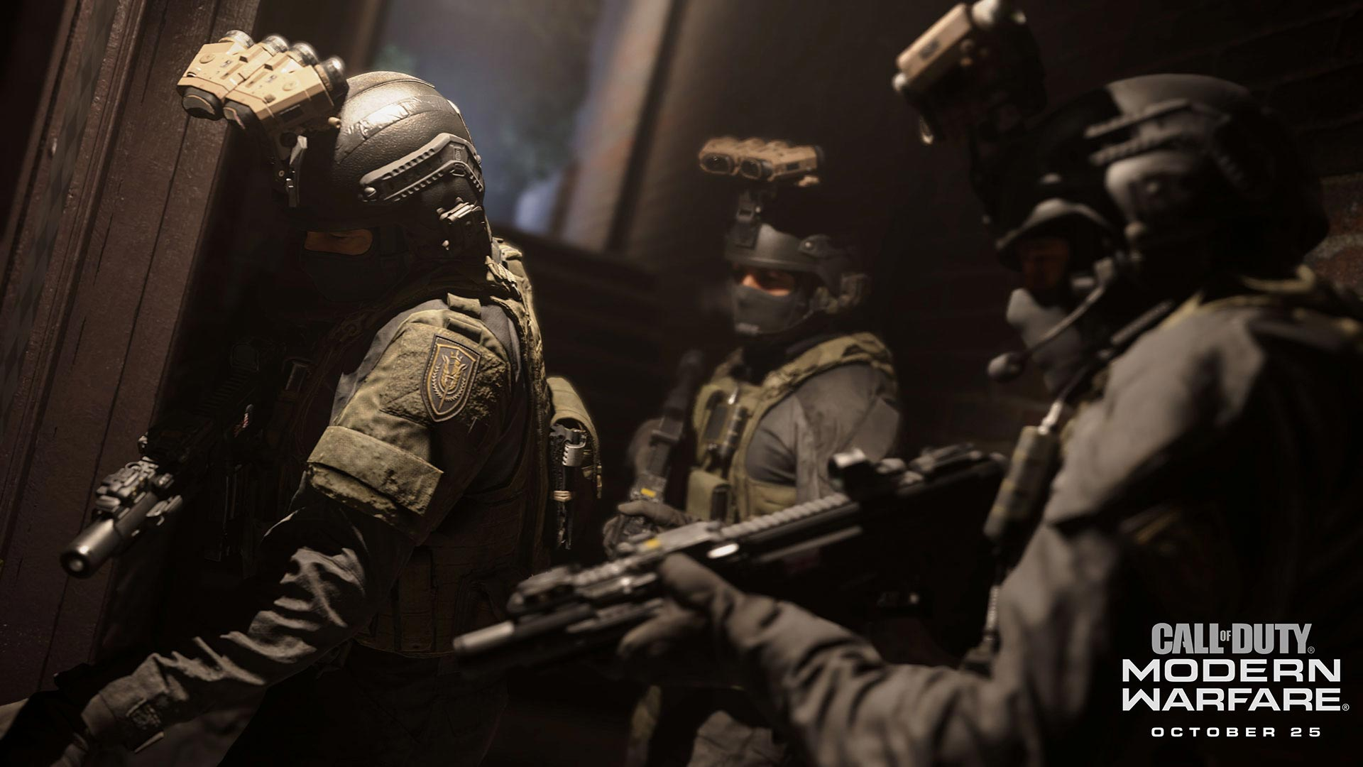 Call of Duty: Modern Warfare SAS team