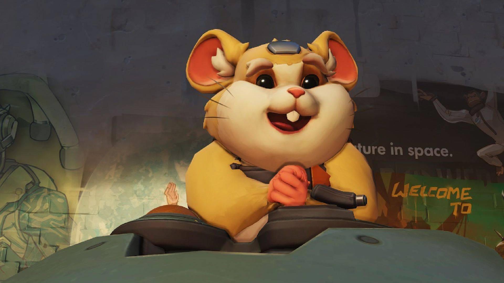 Overwatch Hamster Hammond, Hero 28