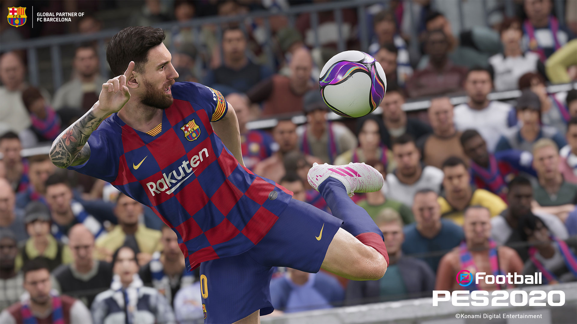 PES 2020 ball control