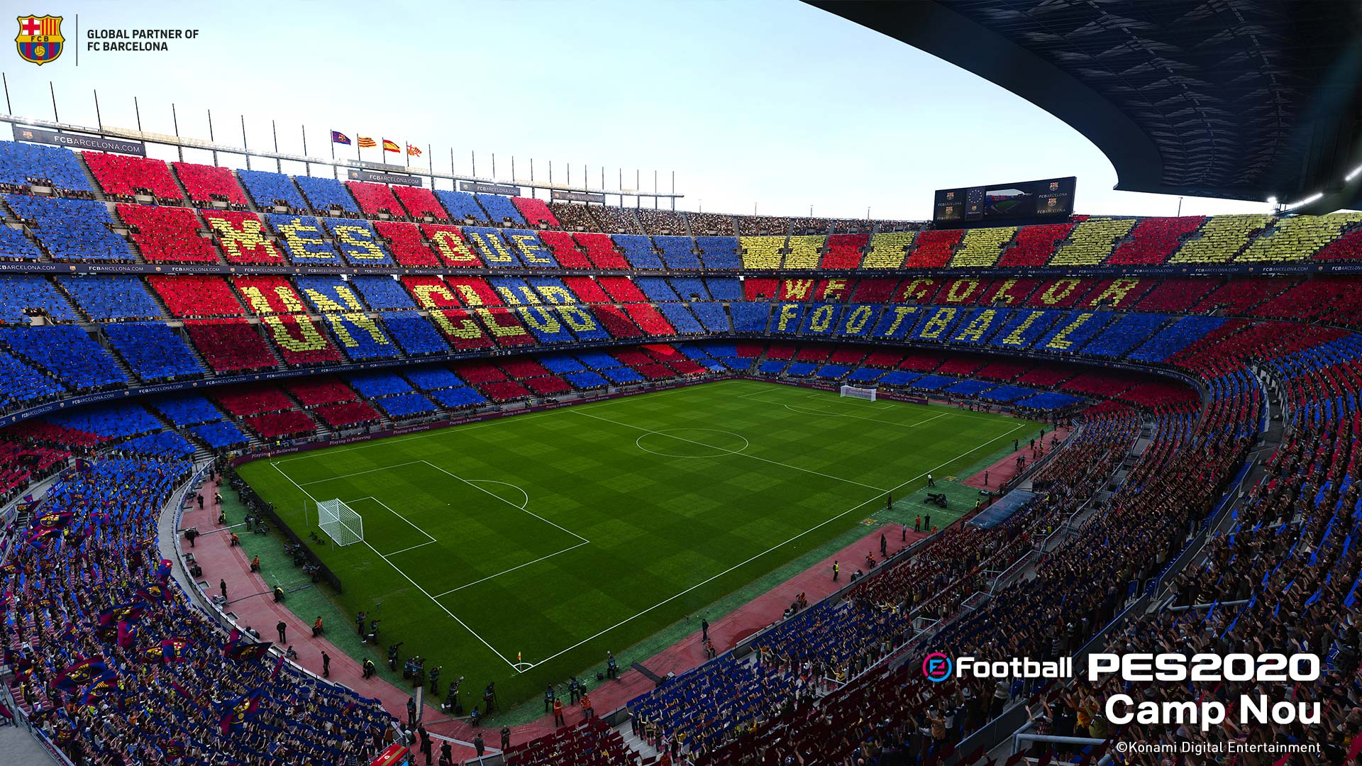 PES 2020 Camp Nou stadium
