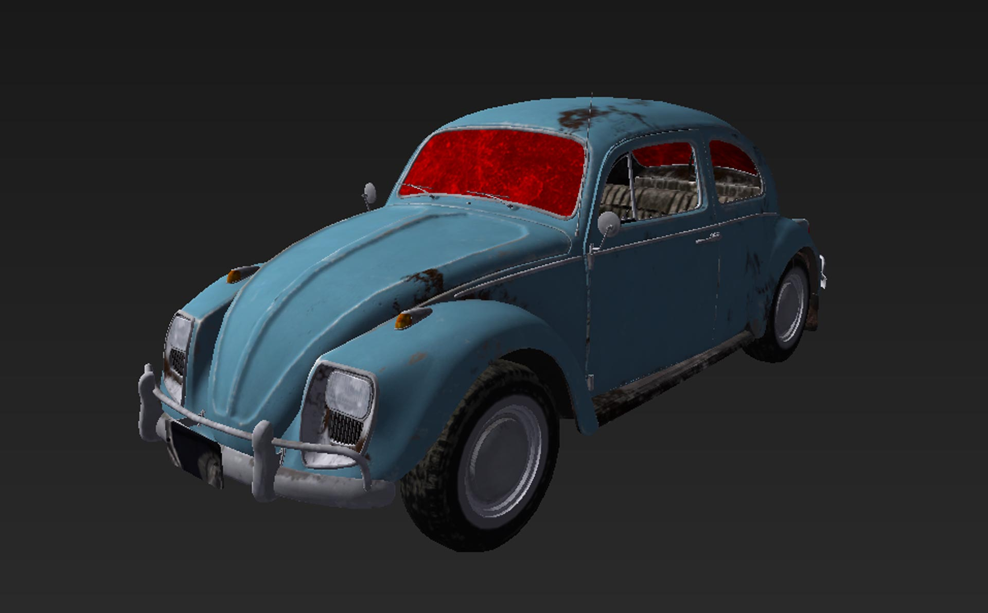 Playerunknown's Battlegrounds: Leaked photo of Beetle.