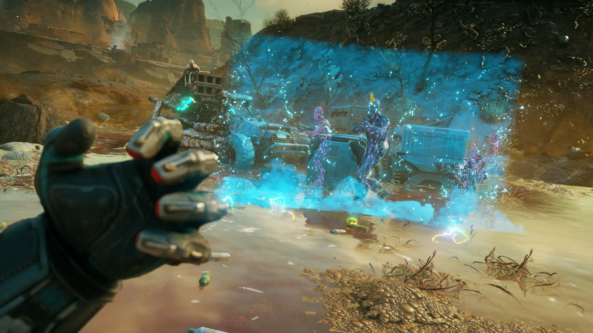 Nanotrite ability barrier in Rage 2