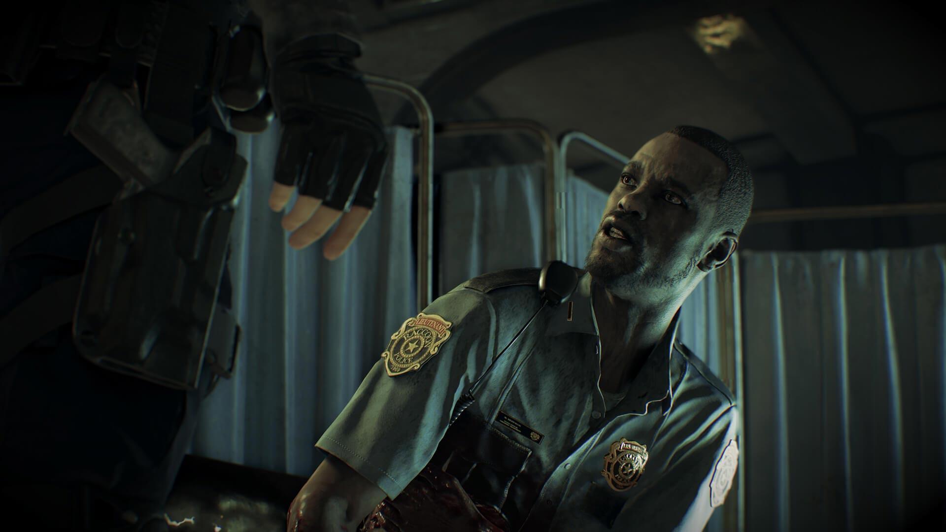 Lieutenant Marvin Branagh Resident Evil 2