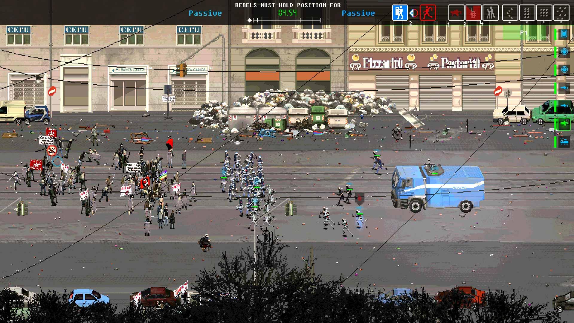 RIOT: Civil Unrest street clash