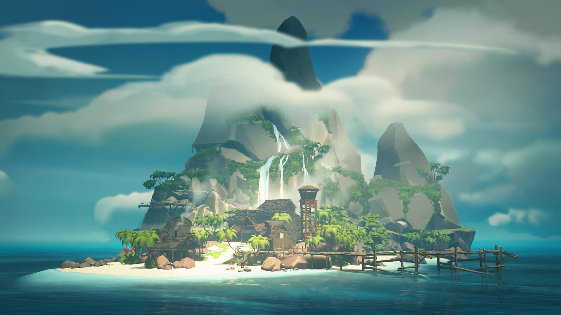 Sea of Thieves Cursed Sails island