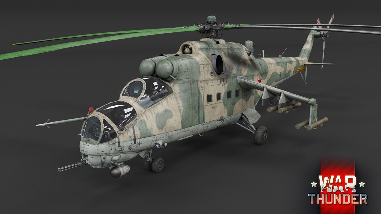 3d model of Mi-24V Helicopter.