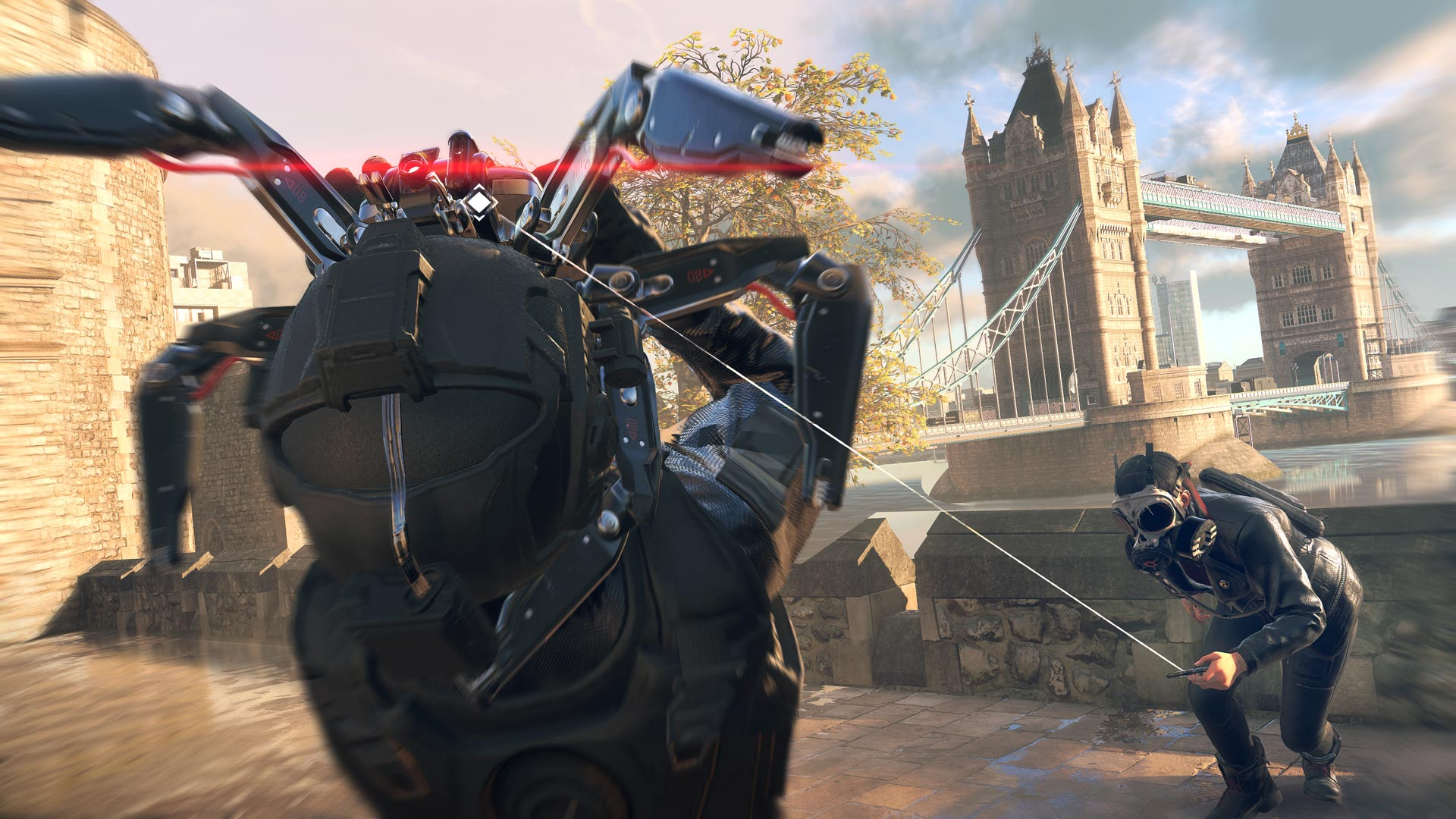 Watch Dogs Legion Spider robot
