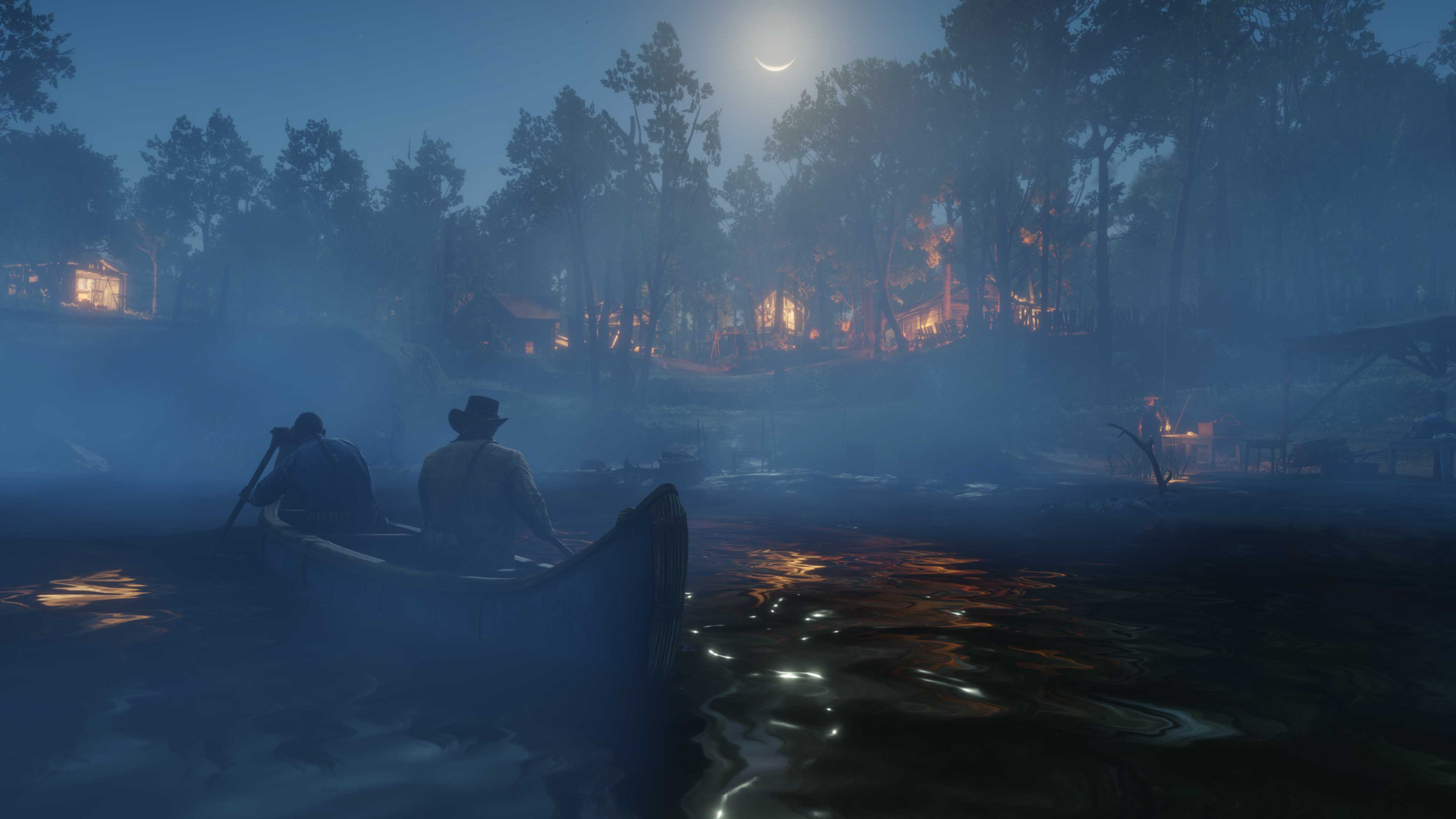 Red Dead Redemption 2 lake