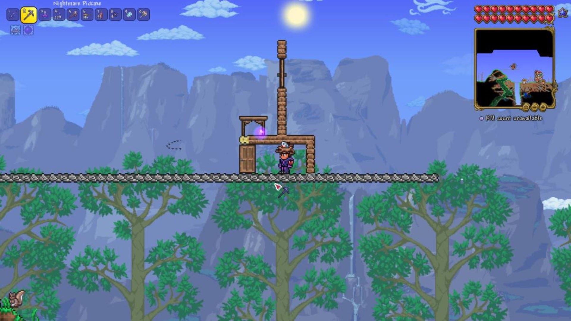 How to duplicate in Terraria Screenshot 1