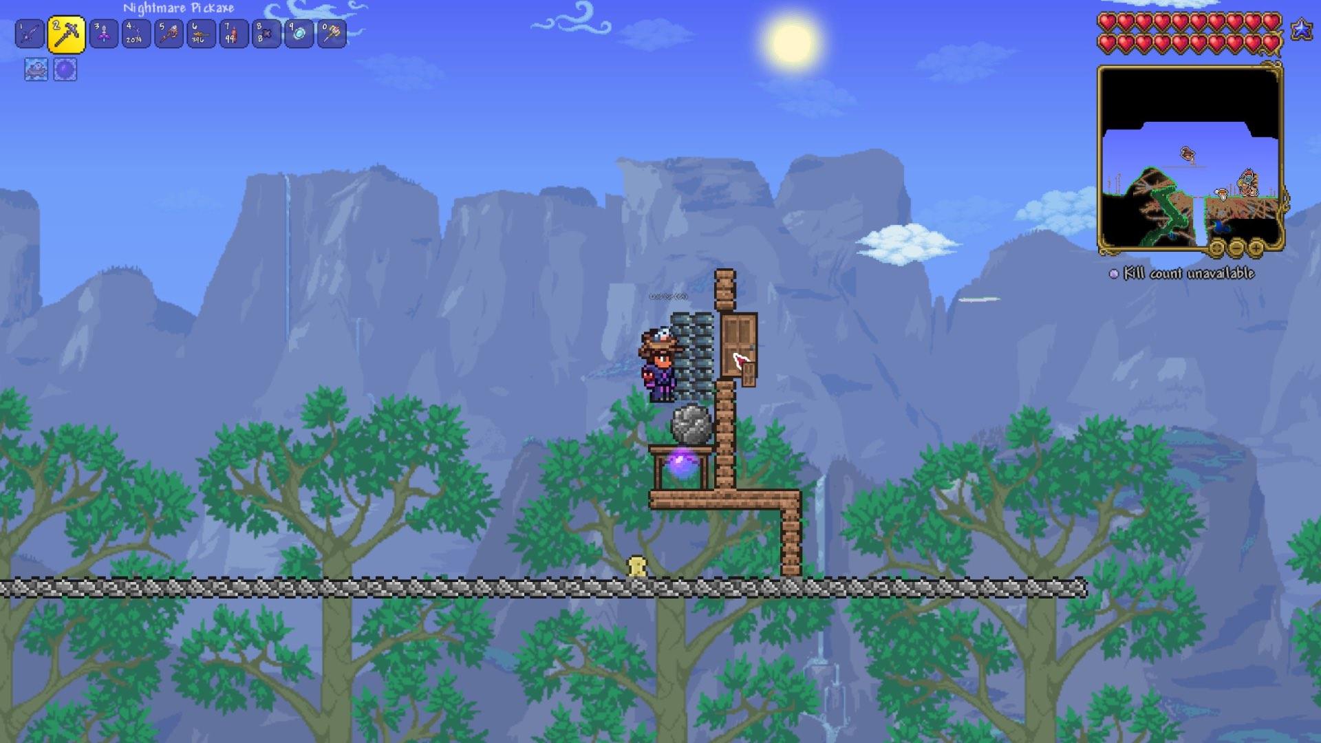 How to duplicate in Terraria Screenshot 2
