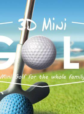 3D MiniGolf Key Art