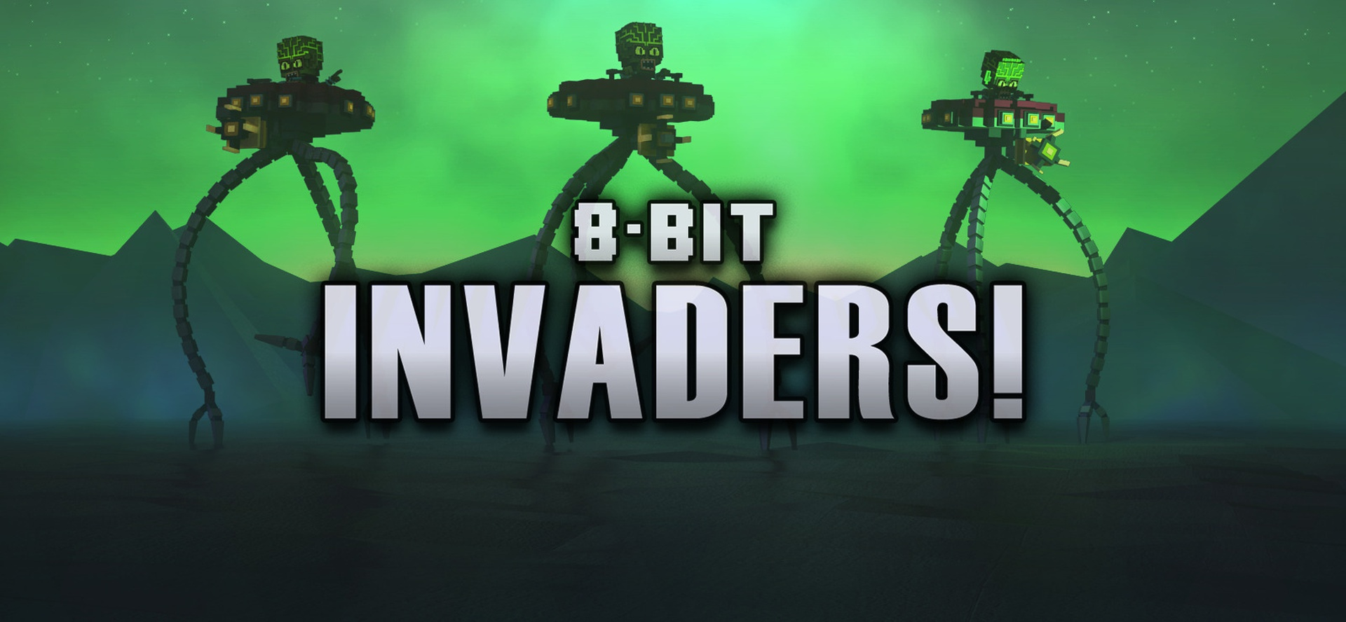 8-Bit Invaders Video